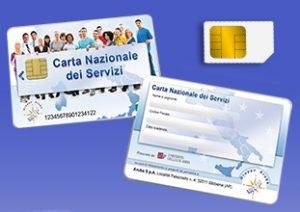 Anagrafe apistica nazionale - Foto di Carta Nazionale dei Servizi CNS in formato Smart Card e SIM Card