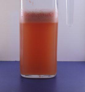 Succo di pompelmo rosa e miele