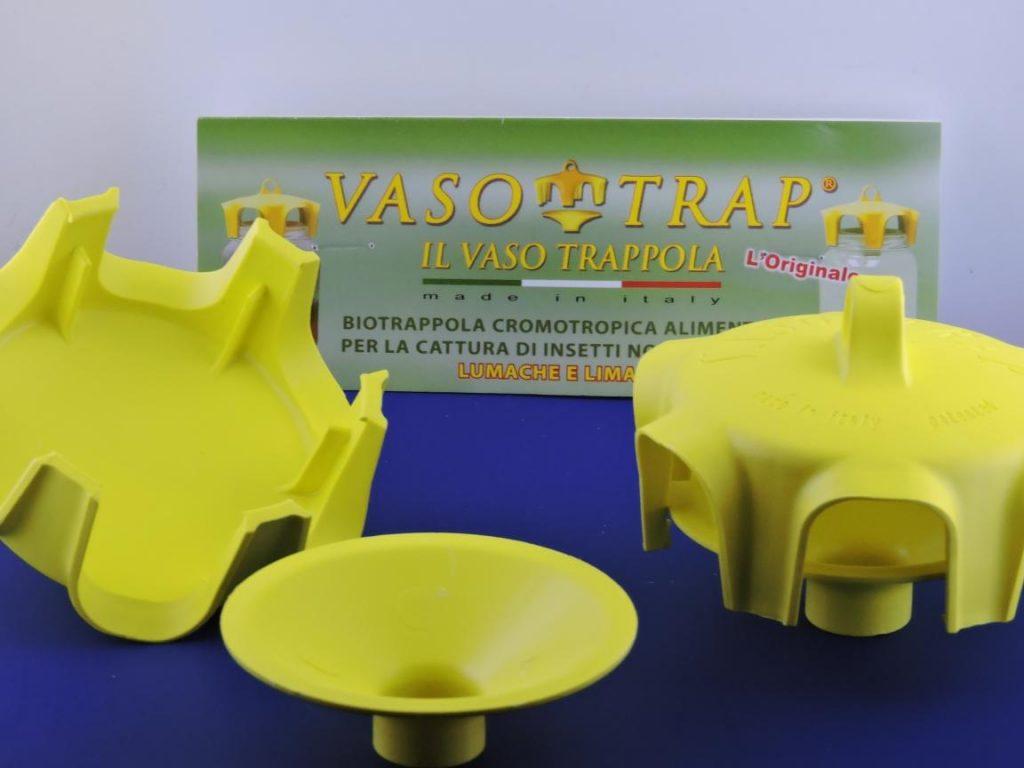 Vaso Trap il tappo trappola biologico