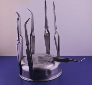 porta-pinzette magnetico apipuntura
