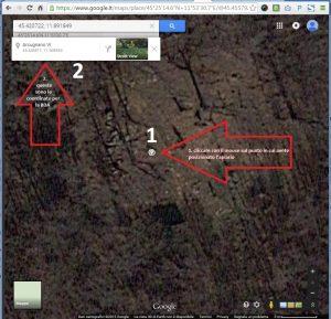 Google Maps coordinate apiario BDA